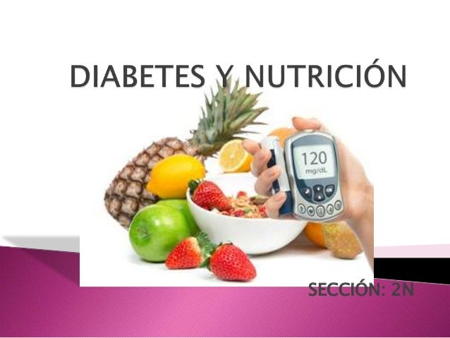 Diabetes y nutrición.
