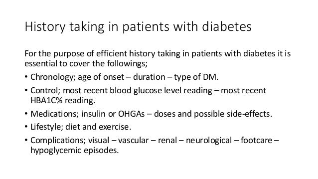 Diabetes Clinical Approach For Paces Station 5