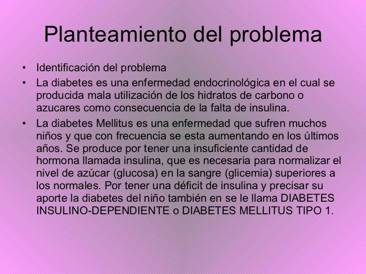 Diabetes Infantil