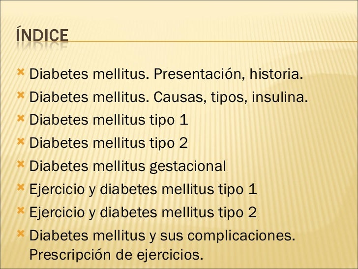 Diabetes Mellitus Para Exponer
