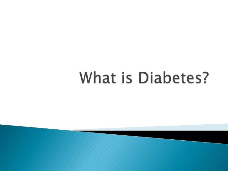    Over 2.9 million people have diabetes in the    UK (Source: Diabetes UK).   Diabetes is where the glucose in your blo...