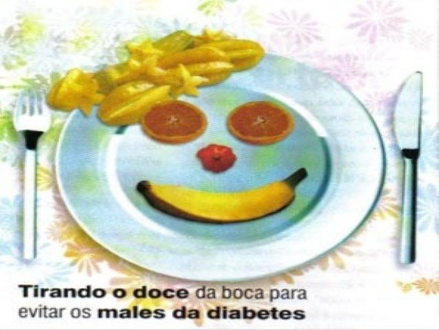O que é a Diabetes?◦ A Diabetes é uma doença que se  caracteriza por uma produção de  insulina insuficiente ou mesmo  ause...
