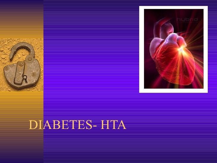 DIABETES- HTA