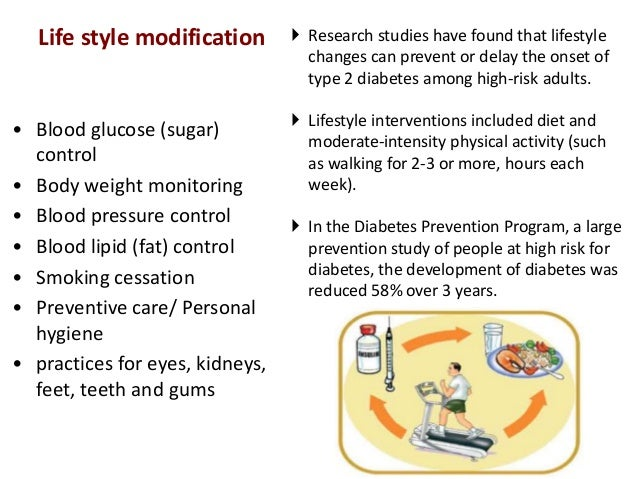 diabetes lifestyle changes  president of the american college of cardiology, review the evidence in  support of lifestyle modification for diabetes management or remission.