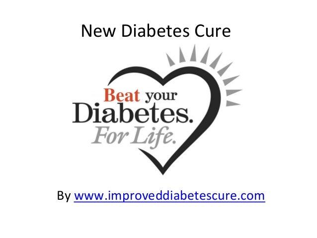 New  Diabetes  Cure  By  www.improveddiabetescure.com