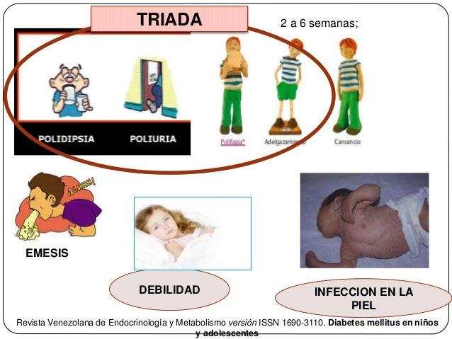 Diabetes en infancia y adolescencia