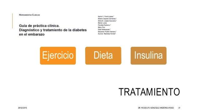 Diabetes gestacional 2015