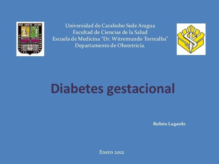 """Universidad de Carabobo Sede Aragua         Facultad de Ciencias de la SaludEscuela de Medicina """"Dr. Witremundo Torrealba""""..."""