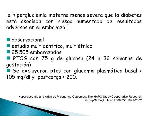 Diabetes gestacional 2014