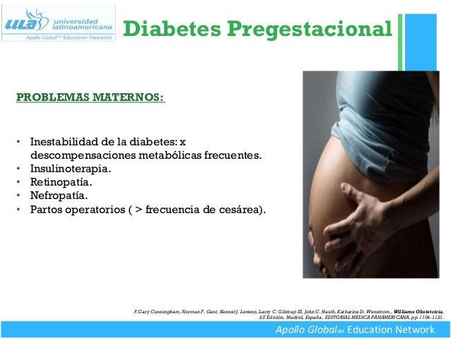 Diabetes gestacional y pregestacional