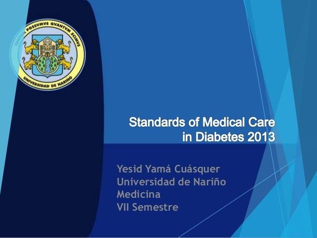 Yesid Yamá Cuásquer Universidad de Nariño Medicina VII Semestre
