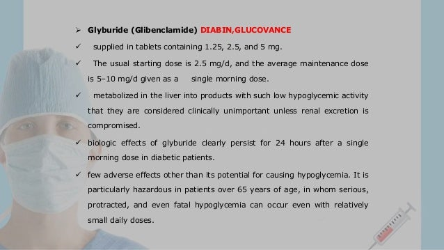Repaglinide Recommended Dosage