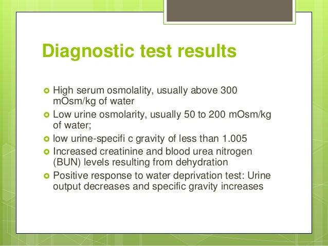 Desmopressin Challenge Test In Diabetes Insipidus