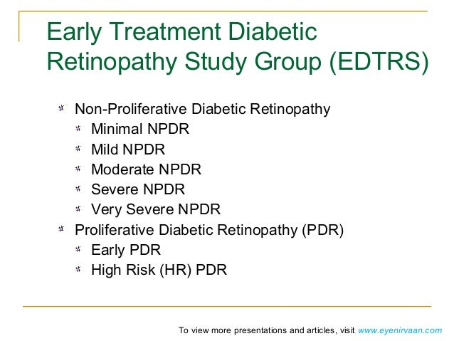 The landmark trials: Diabetic Retinopathy Study and Early ...