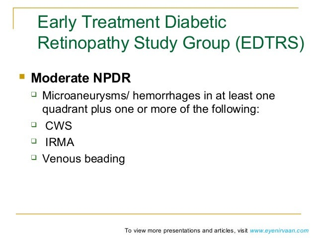 Subretinal fibrosis in diabetic macular edema. ETDRS ...