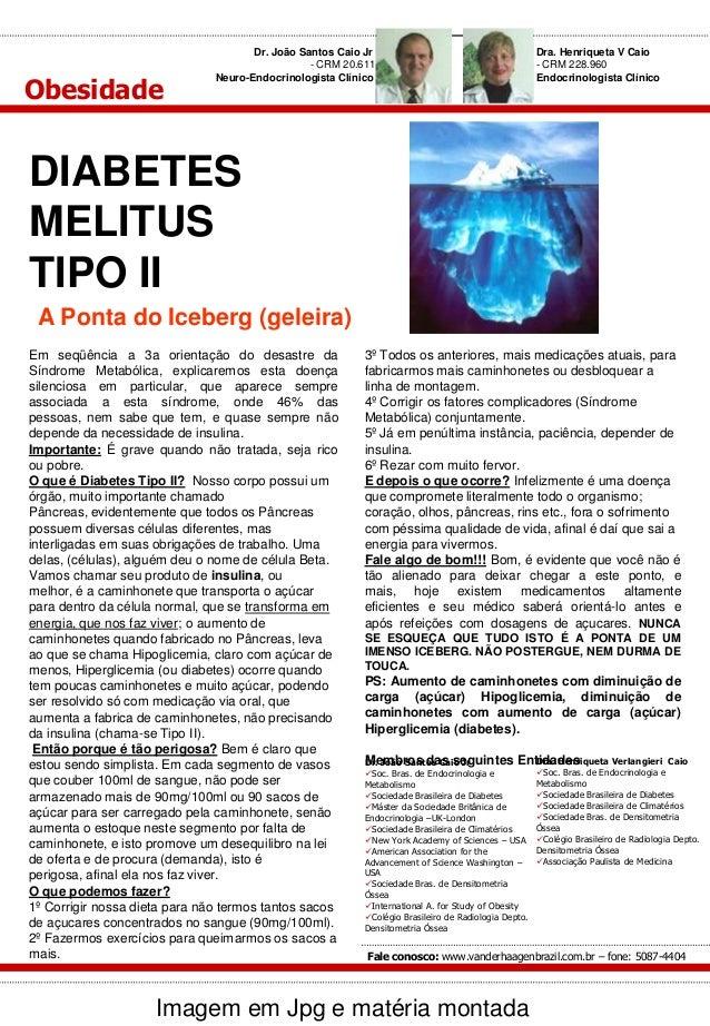 Obesidade  Dr. João Santos Caio Jr - CRM 20.611 Neuro-Endocrinologista Clínico  Dra. Henriqueta V Caio - CRM 228.960 Endoc...