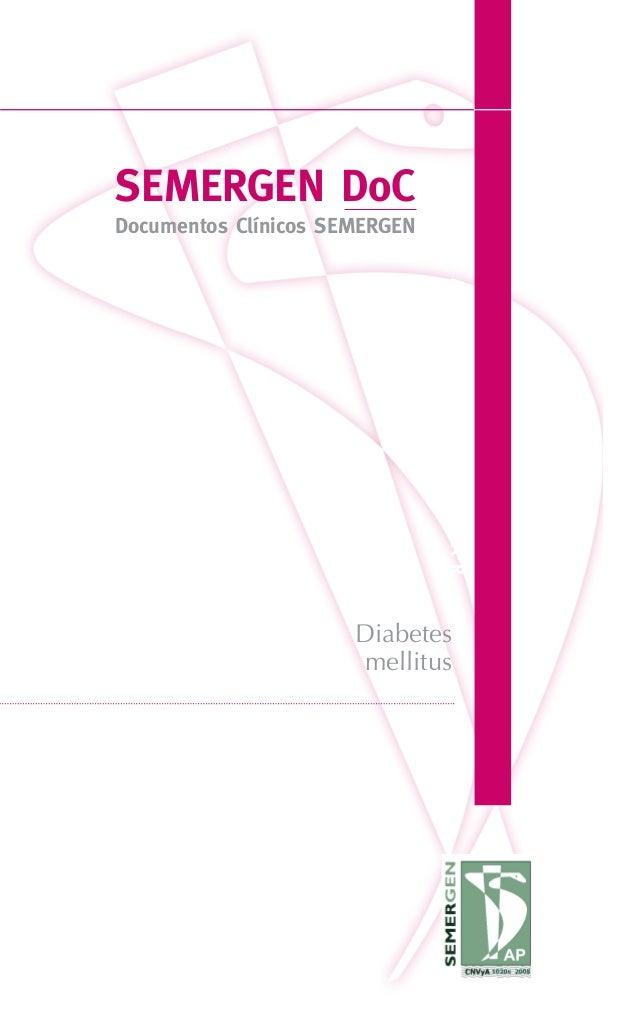 SEMERGENDoCDocumentosClínicosSEMERGENSEMERGEN DoCDocumentos Clínicos SEMERGENDIABETESMELLITUSSEMERGENDoCDocumentosClínicos...