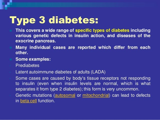 a look at the three types of diabetes Yogurt for diabetes: is one type better than another  with a reduced risk of type 2 diabetes what to look for on the  types of yogurt have.