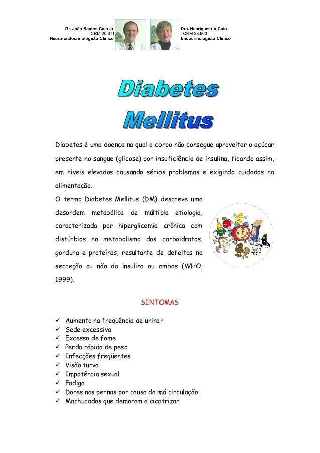 Diabetes é uma doença na qual o corpo não consegue aproveitar o açúcar presente no sangue (glicose) por insuficiência de i...