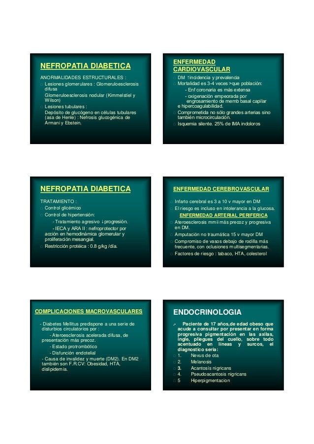 NEFROPATIA DIABETICA ANORMALIDADES ESTRUCTURALES : Lesiones glomerulares : Glomeruloesclerosis difusa Glomeruloesclerosis ...