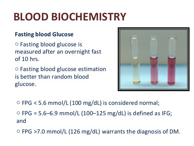 Diabetes mellitus part 3 laboratory diagnosis and management blood biochemistry fasting blood glucose sciox Gallery