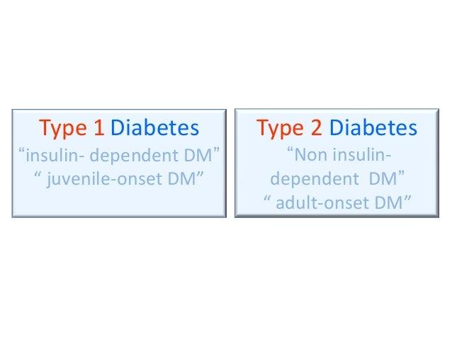 Late onset adult diabetes