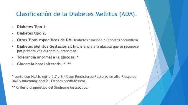 Diabetes Mellitus. Antidiabeticos Orales