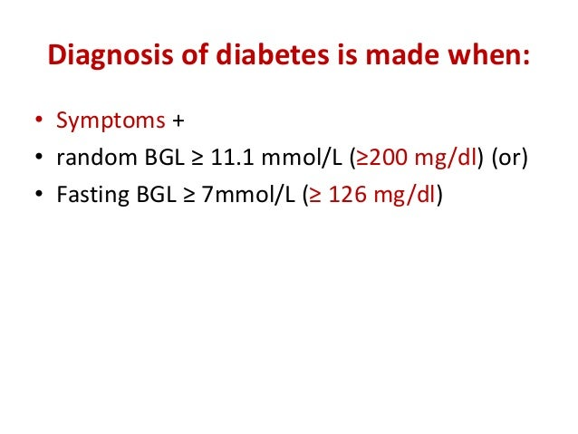 ETIOLOGIC CLASSIFICATIONS OF DIABETES MELLITUS Type I diabetes: (β-cell destruction, usually leading to absolute insulin d...