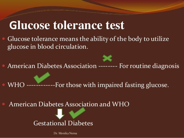 Glucose tolerance tests accuracy in diagnosing diabetes