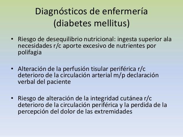 D.M recién diagnosticada Enfermeria.