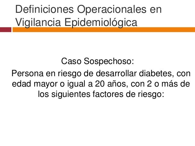 Diabetes mellitus tipo II (encuesta)
