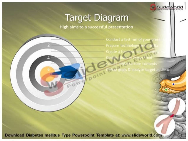 Diabetes powerpoint presentation template autodiet diabetes mellitus type powerpoint template slide world template designer toneelgroepblik Images