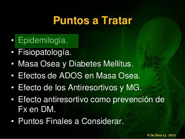 Diabetes Mellitus y Osteoporosis
