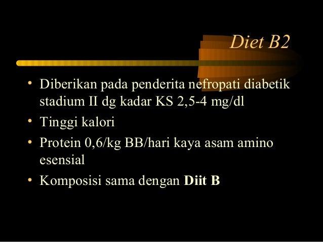 Diet Untuk Penyakit Diabetes Melitus