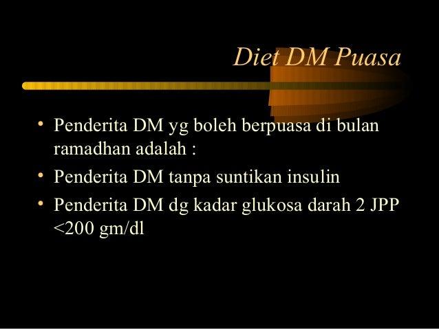 DM dan Puasa