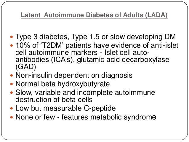 latent autoimmune diabetes of adults lada