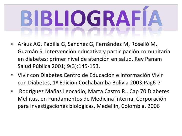 <ul><li>Aráuz AG, Padilla G, Sánchez G, Fernández M, Roselló M, Guzmán S. Intervención educativa y  participación comunita...