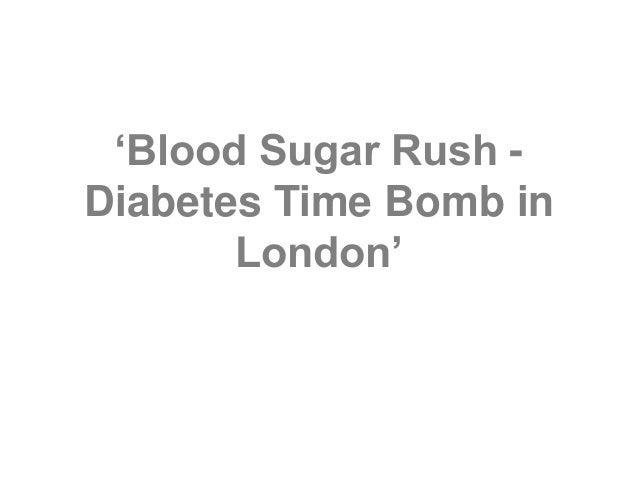 'Blood Sugar Rush - Diabetes Time Bomb in London'