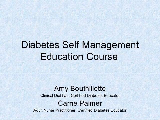 Diabetes self management suzi 4. 10. 13 |authorstream.