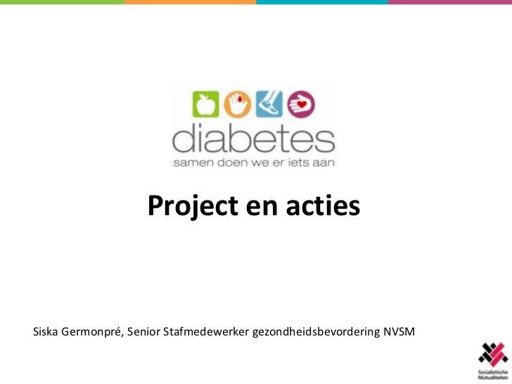 Project en actiesSiska Germonpré, Senior Stafmedewerker gezondheidsbevordering NVSM