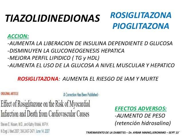 DIABETES: TERAPEUTICA - CATEDRA DE MEDICINA INTERNA - DR