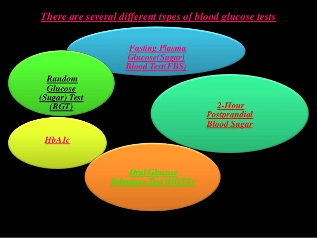 what different types of blood tests are there