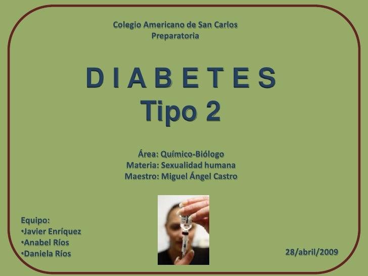 DIABETES TIPO II