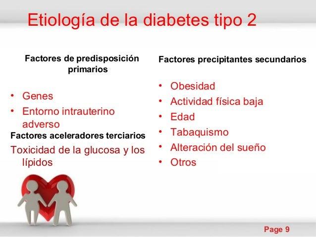 etiología de la diabetes tipo 2