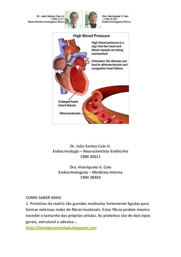 Dr. João Santos Caio Jr. Endocrinologia – Neurocientista-Endócrino CRM 20611 Dra. Henriqueta V. Caio Endocrinologista – Me...
