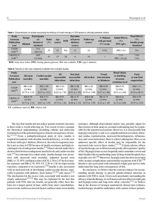 Diabetes tipo 2 insulina 2013