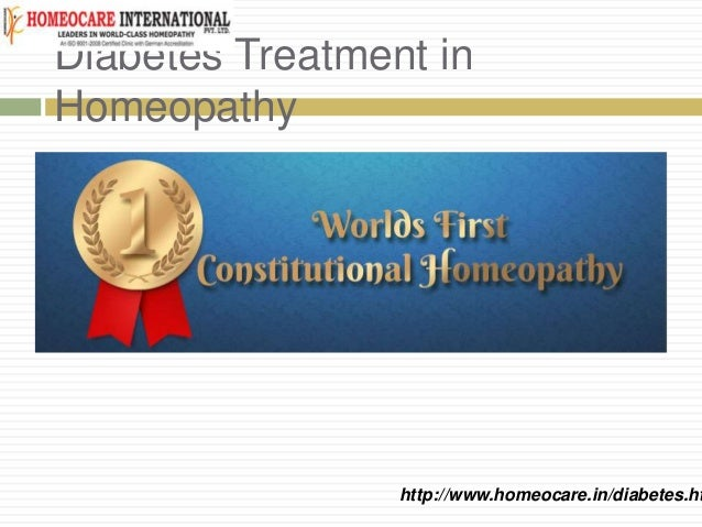 Diabetes Treatment in Homeopathy http://www.homeocare.in/diabetes.ht