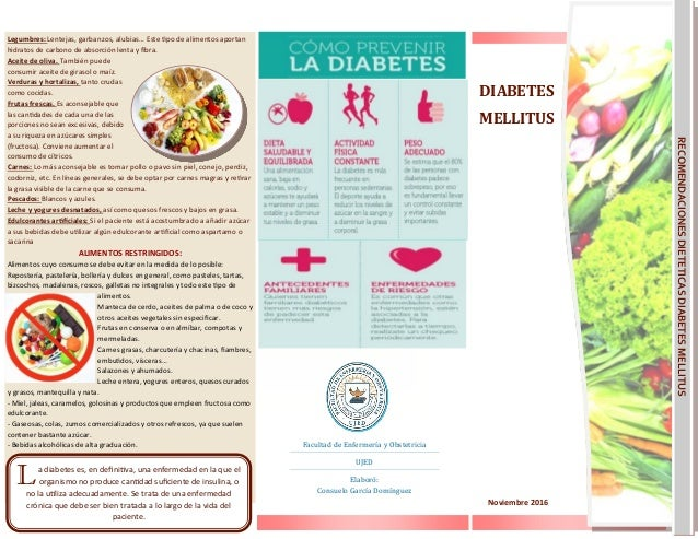 Diabetes triptico