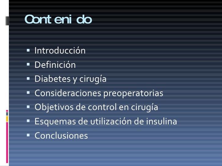 Diabetes y anestesia 2010 junio Slide 2