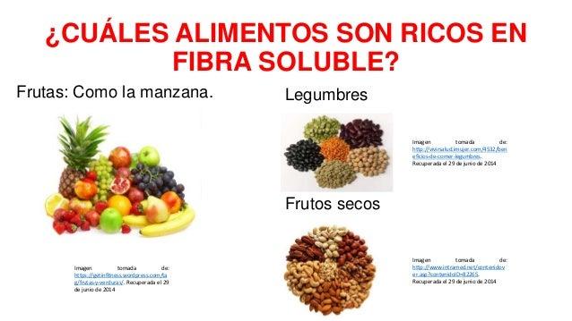 Diabetes y consumo de fibra - Alimentos que tienen fibra ...